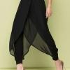 กางเกง Chiffon Cross Irregular