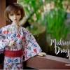 MSD Yukata Set - Midsummer Dragonfly (Shiro)