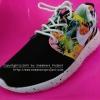 รองเท้า Nike Roshe Run เกรด AAA สีดำ/ขาว Floral Spot
