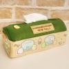 ที่ใส่กล่องทิชชู่ Sumikko Gurashi สีเขียว