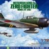 TA60785 Mitsubishi A6M3/A6M3a Zero Fighter Model 22 1/72