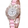 นาฬิกาข้อมือผู้หญิง SBAO สายเรซิ่นรุ่นเพชรล้อม