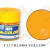 C113 RLM04 Yellow Semi-Gloss 10ml