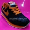 รองเท้า Nike Challenge สีกรมท่า/ส้ม