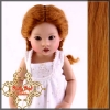 Carrot Red Mohair Plaits Wig