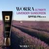 Worra Ultimate Lavender Sunscreen 20 g. ครีมกันแดดวอร่า นุ่น วรนุช