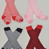 MSD Stripe Knee High Socks Set