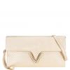 กระเป๋าคลัทช์ Twisted V ( GOLD )
