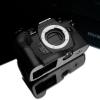 Gariz Leather Half-case for Olympus E-M1 mark II : Black