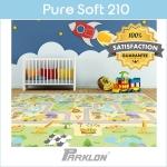 แผ่นรองคลาน PARKLON Pure Soft Mat ลาย Smile Town มีลายทั้ง 2 ด้าน ขนาด 140x210x1.5cm - ส่งฟรี!!
