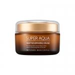 (Pre-order) Missha Super Aqua Deep Nourishing Cream 80 ml. ครีมบำรุงผิว ช่วยลดริ้วรอย