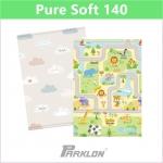 แผ่นรองคลาน PARKLON Pure Soft Mat ลาย Smile Town ขนาด 100x140x1.2cm - ส่งฟรี!!