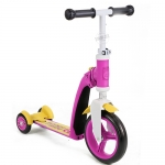 สกู๊ตเตอร์+จักรยานทรงตัว ชมพู/เหลือง(Scooter+Balance Bike) ฟรีค่าจัดส่ง