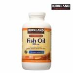 Kirkland Signature Fish Oil 1,000 mg. ผลิตภัณฑ์เสริมอาหารน้ำมันปลา