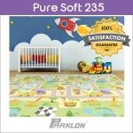 แผ่นรองคลาน PARKLON Pure Soft Mat ลาย Smile Town มีลายทั้ง 2 ด้าน ขนาด 140x235x1.5cm - ส่งฟรี!!