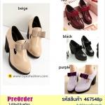 Preorder 467548p รองเท้าหุ้มส้นแฟชั่น 34-39