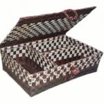 กล่อง สี่แม่ลูก (4MF-โทนน้ำตาลเข้ม)