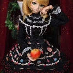 [PRE-ORDER] Black Printed Holiday DD-L ver.