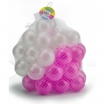 ลูกบอลขนาด 3 นิ้ว จำนวน 50 ลูก(สีขาว-ชมพู)..ฟรีค่าจัดส่ง