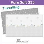 แผ่นรองคลาน PARKLON Pure Soft Mat ลาย Travelling มีลายทั้ง 2 ด้าน ขนาด 140x235x1.5cm - ส่งฟรี!!
