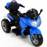 รถแบตมอไซค์ BMW Motorola มีรีโมท+โยกได้ สีน้ำเงิน