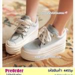 Preorder 4455p รองเท้าผ้าใบผู้หญิง 34-39
