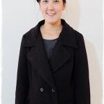 ((ขายแล้วครับ))((คุณTik Naweeya จองครับ))ca-2955 เสื้่อโค้ทกันหนาวผ้าวูลสีดำ รอบอก42