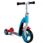 สกู๊ตเตอร์+จักรยานทรงตัว น้ำเงิน/สีแดง (Scooter+Balance Bike) ฟรีค่าจัดส่ง