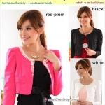 Preorder เสื้อคุลมไซส์ใหญ่ สีชมพูแดง ขาว ดำ XL-3XL