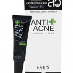 Eve's Anti Acne Charcoal Cream 7 g. อีฟ ครีมแต้มสิวชาโคล