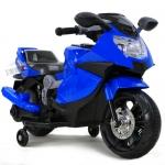 รถมอเตอร์ไซค์ (รถแบต)ฺBMW สีน้ำเงิน...ฟรีค่าจัดส่ง