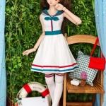 [PRE-ORDER] DD-L White & Green Sailor