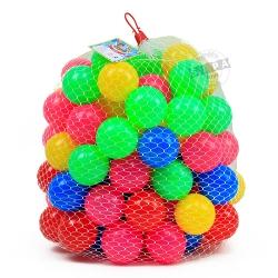 ลูกบอลหลากสี จำนวน 100 ลูก...ฟรีค่าจัดส่ง