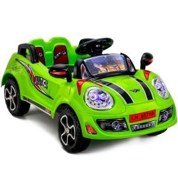รถแบต JUSTICE สีเขียว ฟรีค่าจัดส่ง