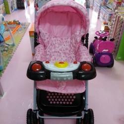 รถเข็นเด็ก ATTOON รุ่นจัมโบ้ (มีเสียงเพลง)
