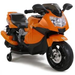 รถมอเตอร์ไซค์ (รถแบต)ฺBMW สีส้ม...ฟรีค่าจัดส่ง