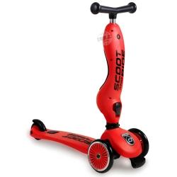 สกู๊ตเตอร์+จักรยานทรงตัว สีแดง (Scooter+Balance Bike) ฟรีค่าจัดส่ง