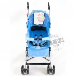 รถเข็นเด็ก รุ่น Maru Polka Dot - สีฟ้า