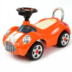 รถขาไถมินิคูเปอร์ สีส้ม(Baby Sliding Carriage)