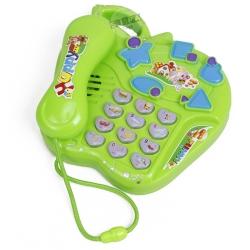 โทรศัพท์ดนตรีคละแบบ สีเขียว...ฟรีค่าจัดส่ง