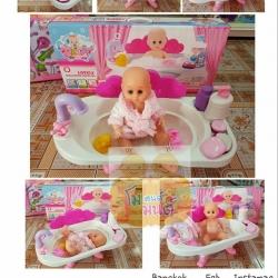 ชุดตุ๊กตาอ่างอาบน้ำ Baby Bath