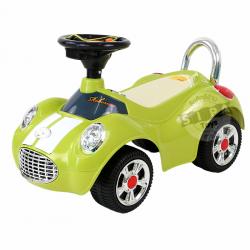 รถขาไถมินิคูเปอร์ สีเขียว (Baby Sliding Carriage)