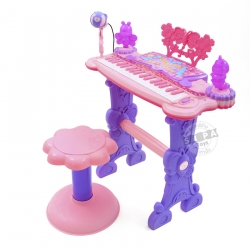 Electronic Keyboard Beauty Piano สีชมพู