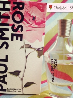 Paul Smith Rose Eau de Parfum 100ml (ส่งต่อจ้า)