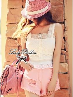 Lady Ribbon Lady Luxurious Lace Set เซ็ตเสื้อลูกไม้ 2 ชิ้น
