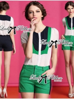 Lady Ribbon Pretty Casual Set