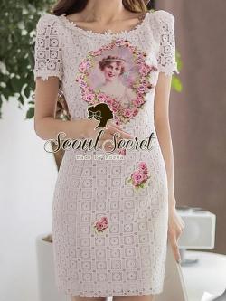 Seoul Secret Princess Lace Lux Dress