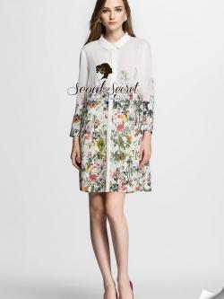 Seoul Secret Sarah Blossom Dress Shirt