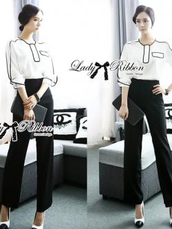 Lady Ribbon Lady Smart Minimal Graphic Set