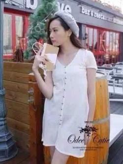 Ivory Knit Mini Dress มินิเดรสไหมพรม สีโทนอ่อน